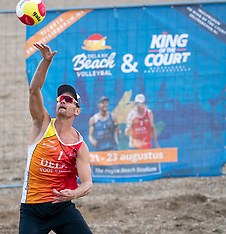 20200822 NED: DELA NK Beach volleyball, Scheveningen