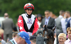 Josephine Gordon on Koropick wins the Betfred TV Chipchase Stakes during the Betfred Northumberland Plate Day at Newcastle Racecourse.