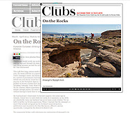 Private clubs magazine assignment to photograph Amangiri