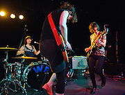 WASHINGTON, D.C. - March 10th, 2011: WIld Flag performs at the Black Cat in Washington, D.C. The band consists of former members of Sleater-Kinney, Helium and The Minders and will record and release their debut album later this year.   (Photo by Kyle Gustafson/For The Washington Post)