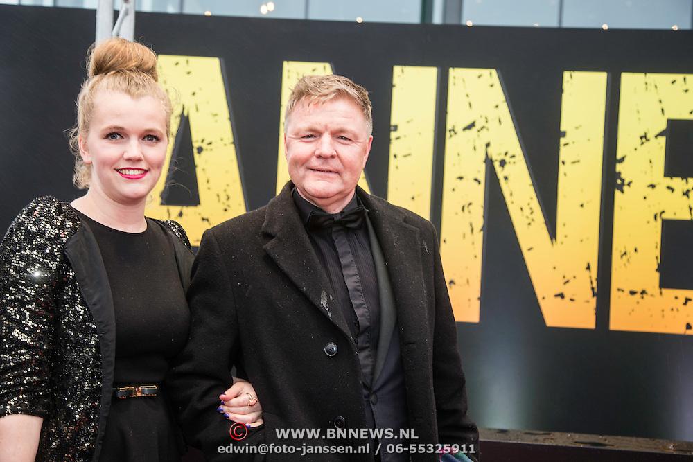 NLD/Amsterdam/20140508 - Wereldpremiere Musical Anne, Renee Mioch en dochter .....