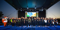 Athletes during reception of Slovenian Olympic Team at BTC City when they came back from Rio de Janeiro after Summer Olympic games 2016, on August 26, 2016 in Ljubljana, Slovenia. Photo by Matic Klansek Velej / Sportida