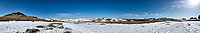 Panorama from Trail Ridge Road. Rocky Mountain National Park. Composite of seven images taken with a Nikon D200 camera and 14 mm f/2.8 lens (ISO 100, 14 mm, f/11, 1/250 sec).