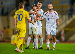 10# Agim Ibraimi of Domzale during football match between Domzale and NK Triglav Kranj in 1. Slovenian National League, on September 16, 2018 in Sports park Domzale Ljubljana, Ljubljana, Slovenia. Photo by Urban Meglic / Sportida