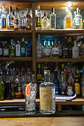 A gin and tonic at the Old Bridge Inn on the 6th November 2018 in Aviemore, Scotland in the United Kingdom.