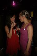 Sherrill Smith and Corrine quinn, Glamour Women of the Year Awards 2006, Berkeley Sq. London. 6 June 2006. -DO NOT ARCHIVE-© Copyright Photograph by Dafydd Jones 66 Stockwell Park Rd. London SW9 0DA Tel 020 7733 0108 www.dafjones.com
