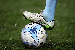 Football boot and ball detail