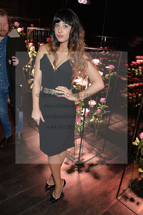 Singer FOXES (Louisa Allen) at the Lancôme pre BAFTA party held at The London Edition, 10 Berners Street, London on 14th February 2014.