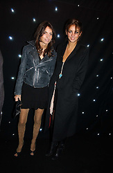 Left to right, sisters MARINA HANBURY and ROSE HANBURY at the launch of he LG 'Shine' Black Label Series mobile phone held at Cirque, Leicester Square, London W1 on 7th February 2007.<br /><br />NON EXCLUSIVE - WORLD RIGHTS