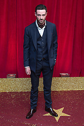 © Licensed to London News Pictures . 16/05/2015 .  The Palace Hotel , Manchester , UK . SEAN WARD . The red carpet at the 2015 British Soap Awards , The Palace Hotel , Oxford Road , Manchester . Photo credit : Joel Goodman/LNP