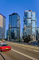 Chine, Hong Kong, Hong Kong Island, Queensway Road // China, Hong-Kong, Hong Kong Island, Queensway Road