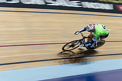 Damian Zielinski - Photo mandatory by-line: Nigel Pitts-Drake/JMP - Tel: Mobile: 07966 386802 28/06/2014 - SPORT - CYCLING - KEIRIN -  National Cycling Centre - Manchester