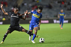 South Africa: Johannesburg: Orlando Pirates Thabo Matlaba and Cape Town City  Gift Links during the Premier Soccer League (PSL) at Orlando Stadium in Soweto, Gauteng.<br />19.09.2018<br />Picture: Itumeleng English/African News Agency (ANA)