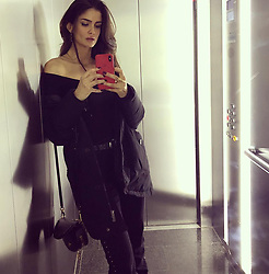 """Shermine Shahrivar releases a photo on Instagram with the following caption: """"Baby your so far away \ud83c\udfb6\n#elevator #stories #salty #letsflyaway \ud83d\ude4b\ud83c\udffb\u200d\u2640\ufe0f"""". Photo Credit: Instagram *** No USA Distribution *** For Editorial Use Only *** Not to be Published in Books or Photo Books ***  Please note: Fees charged by the agency are for the agency's services only, and do not, nor are they intended to, convey to the user any ownership of Copyright or License in the material. The agency does not claim any ownership including but not limited to Copyright or License in the attached material. By publishing this material you expressly agree to indemnify and to hold the agency and its directors, shareholders and employees harmless from any loss, claims, damages, demands, expenses (including legal fees), or any causes of action or allegation against the agency arising out of or connected in any way with publication of the material."""
