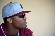 Florida State pitcher Jameis Winston watches from the dugout before an NCAA college baseball game against Central Florida in Orlando, Fla., Tuesday, March 11, 2014. (Photo by Phelan M. Ebenhack)