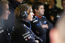 February 20, 2019 - Barcelona, Spain - WILLIAMS Claire (gbr), Deputy Team Principal of Williams F1 Racing, portrait during Formula 1 winter tests from February 18 to 21, 2019 at Barcelona, Spain - Photo  /  Motorsports: FIA Formula One World Championship 2019, Test in Barcelona, (Credit Image: © Hoch Zwei via ZUMA Wire)