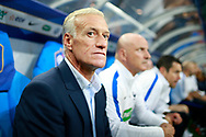 France's coach Didier Deschamps reacts during the FIFA World Cup Russia 2018, Qualifying Group A football match between France and Netherlands on August 31, 2017 at the Stade de France in Saint-Denis, north of Paris, France - Photo Benjamin Cremel / ProSportsImages / DPPI