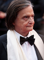 Actor Jean-Pierre Leaud at the Closing Palm D'Or Awards Ceremony at the 69th Cannes Film Festival, Sunday 22nd May 2016, Cannes, France. Photography: Doreen Kennedy