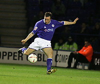 Photo: Paul Thomas. Leicester City v Derby County, Walkers Stadium, Leicester. Coca Cola Championship, 26/04/2005. David Connolly Scores