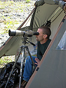 Hunters Scouting for Dall Sheep in the Chugach Mountains of Alaska