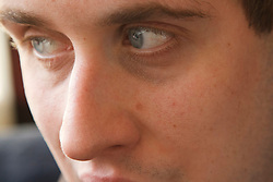 Close-up portrait of young man with autism. Cleared for Mental Health issues.