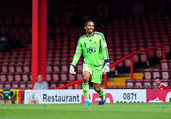 Bristol City Goalkeeper, David James - Photo mandatory by-line: Joseph Meredith / JMPUK - 30/07/2011 - SPORT - FOOTBALL - Championship - Bristol City v West Bromwich Albion - Ashton Gate Stadium, Bristol, England