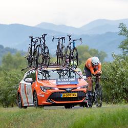 24-09-2020: wielrennen: WK tijdrit vrouwen: Imola<br /> Ellen Van Dijk (Netherlands)