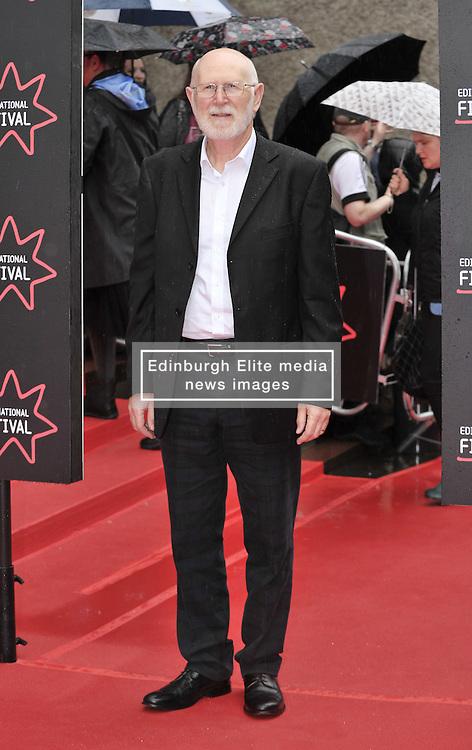 "Edinburgh International Film Festival, Sunday 26th June 2016<br /> <br /> Stars turn up on the closing night gala red carpet for the World Premiere of ""Whisky Galore!""  at the Edinburgh International Film Festival 2016<br /> <br /> Ken Drury who plays Mr Bain in the film<br /> <br /> (c) Alex Todd | Edinburgh Elite media"