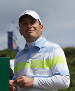 The Aberdeen Asset Management Scottish Open Golf Championship 2012 At Castle Stuart Golf Links..3rd Round Saturday 14-07-12.. .Francesco Molinari ejoying a bit of sun on a mixed bag of weather, during the 3rd Round of The Aberdeen Asset Management Scottish Open Golf Championship 2012 At Castle Stuart Golf Links. The event is part of the European Tour Order of Merit and the Race to Dubai....At Castle Stuart Golf Links, Inverness, Scotland...Picture Mark Davison/ ProLens PhotoAgency/ PLPA.Saturday 14th July 2012.