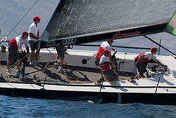 Practice race, AUDI MedCup Cartagena, Spain, 24rd August 2010,  trofeo Caja Mediterraneo, Region de Murcia(24-29 August 2010) © Sander van der Borch / Artemis
