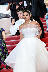 """premiere of """"LES PLUS BELLES ANNEES D'UNE VIE"""" during the 2019 Cannes Film Festival on May 18, 2019 at Palais des Festivals in Cannes, France. 18 May 2019 Pictured: Priyanka Chopra and Nick Jonas. Photo credit: Lyvans Boolaky/imageSPACE / MEGA TheMegaAgency.com +1 888 505 6342"""