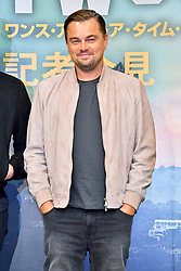 August 26, 2019, Tokio, Tokio, Japan: Leonardo DiCaprio bei der Pressekonferenz zum Kinofilm 'Once Upon a Time in... Hollywood' im Hotel Ritz-Carlton. Tokio, 26.08.2019 (Credit Image: © Future-Image via ZUMA Press)
