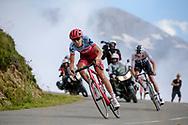 Ilnur Zakarin (RUS - Team Katusha - Alpecin) during the 105th Edition of Tour de France 2018, cycling race stage 19, Lourdes - Laruns (200 km) on July 27, 2018 in Laruns, France - photo Kei Tsuji / BettiniPhoto / ProSportsImages / DPPI