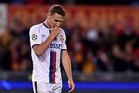 Dejection Fedor Chalov CSKA<br /> Roma 23-10-2018 Stadio Olimpico<br /> Football Calcio UEFA Champions League 2018/2019 <br /> AS Roma - CSKA Moscow<br /> Foto Antonietta Baldassarre / Insidefoto