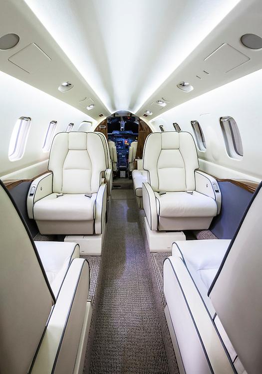 Piaggio P180 Avanti II created at Atlanta's Dekalb Peachtree Airport (PDK) in April, 2014.