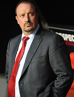 20100401: LISBON, PORTUGAL - SL Benfica vs Liverpool: Europa League 2009/2010 - Quarter-Finals - 1st leg. In picture: Rafael Benitez Maudes (Liverpool's Coach). PHOTO: Alvaro Isidoro/CITYFILES