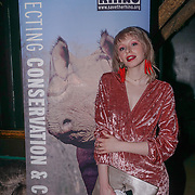 Ivy Mae is a pop singer attend to support Hornï Underwear for London Launch Party to support global rhino conservation fundraising on 8 Feb 2018 at Cuckoo Club in London, UK.