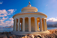 Fanari lighthouse or Agion Theodoron lighthouse, Kefalonia, Ionian Islands, Greece. .<br /> <br /> Visit our GREEK HISTORIC PLACES PHOTO COLLECTIONS for more photos to download or buy as wall art prints https://funkystock.photoshelter.com/gallery-collection/Pictures-Images-of-Greece-Photos-of-Greek-Historic-Landmark-Sites/C0000w6e8OkknEb8