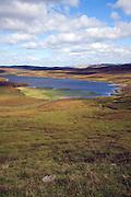 Loch of Flatpunds, near Walls, Mainland, Shetland Islands, Scotland