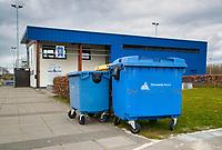 ASSEN  - Ook  de hockeyvelden van HVA  Assen,   zijn verboden terrein  ivm Coronavirus. COPYRIGHT KOEN SUYK