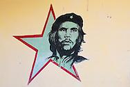 Image of Ernesto Che Guevara in Manzanillo, Cuba.