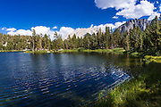 Big Pine Lake #4, John Muir Wilderness, Sierra Nevada Mountains, California USA