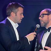 NLD/Amsterdam/20111029- JFK Greatest Man Award 2011, Winston Gerschtanowitz en Willem Baars