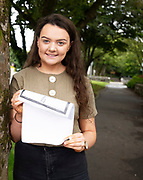 13/08/2019 Repro Free: Aoibheann Gibbons Castlebar (518)(primary school teaching  in St. Pats) who received  her Leaving Certificate Results from Yeats College in Galway City. Photo:Andrew Downes, xposure.