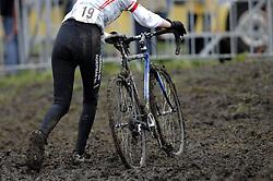 06-01-2007 WIELRENNEN: NK VELDRIJDEN VROUWEN: WOERDEN<br /> Fiets in de modder item veldrijden wielrennen creative<br /> ©2007-WWW.FOTOHOOGENDOORN.NL