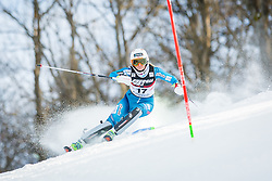 """Maren Skjoeld (NOR) during FIS Alpine Ski World Cup 2016/17 Ladies Slalom race named """"Snow Queen Trophy 2017"""", on January 3, 2017 in Course Crveni Spust at Sljeme hill, Zagreb, Croatia. Photo by Žiga Zupan / Sportida"""