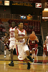 19 November 2005: Dana Ford gives the ball a half glance pass as he brings the ball to the 3pt. line on a fast break. In a non-conference race that came down to a photo finish, the Illinois State Redbirds slipped past the Indianapolis University Greyhounds 54-50 at Redbird Arena in Normal Illinois