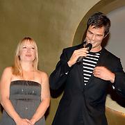 NLD/Amsterdam/20061108 - Uitreiking ' Cosmo-vrouw van het jaar 2006 ', Hilmar Mulder en  en Arie Boomsma
