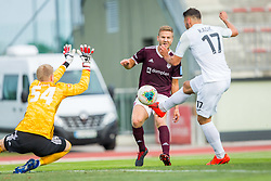 Dominik Radic of NK Rudar Velenje during Football match between NK Triglav Kranj and NK Rudar Velenje in Round #3 of Prva liga Telekom Slovenije 2019/20, on July 27, 2019 in Sports park Kranj, Kranj, Slovenia. Photo by Ziga Zupan / Sportida