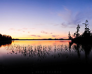 Raquette Lake holds a special place in my heart--all of my father's siblings bought camps here in the 60's, and we visited every summer well into our teens.  This evening in July found me in a bay in South Bay vicinity, driven to distraction by the mosquitos in the few minutes it took to shoot a series of photographs.
